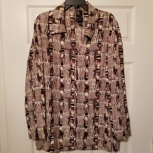Dana B and Karen 100% silk top size 10